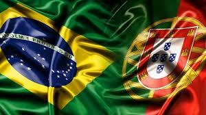 bandeira brasil e portugal